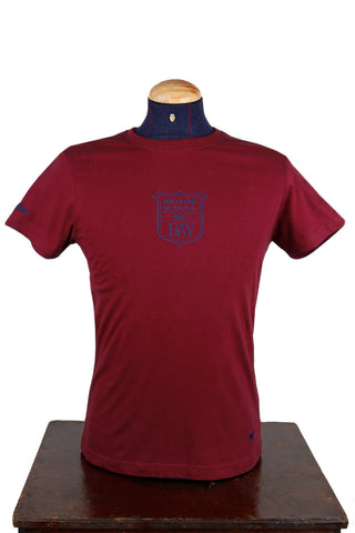 British School Burgundy T-Shirt