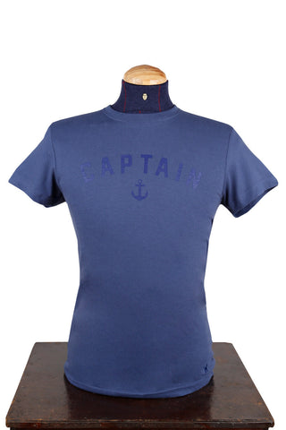 Blue Captain T-Shirt