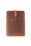 "Brown Leather I-Pad 10"" Case"