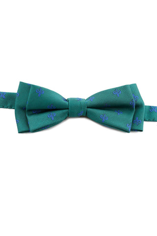 Marine Green French Bow Tie PAJ 0009