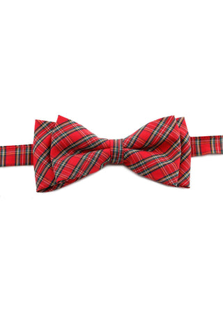 Scarlet And Green Island Print Bow Tie PAJ 0012