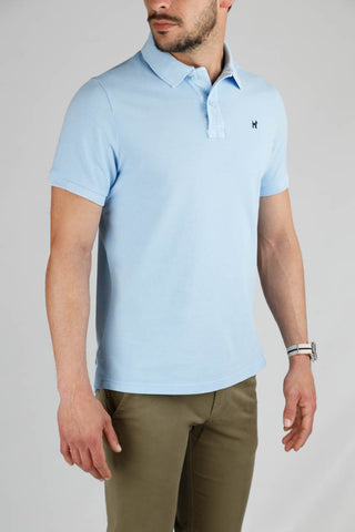 Classic Light Blue Polo Shirt