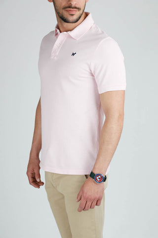 Classic Light Pink Polo Shirt