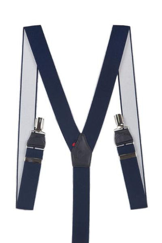Navy Trousers Braces TIR 0004