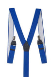 Royal Blue Trouser Braces TIR 0004