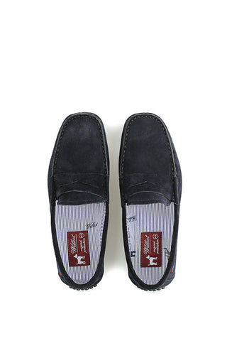 Marine Blue Loafers