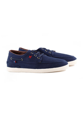 Dark Blue Nautical Sneakers