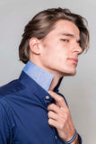 Midnight Blue Slim Fit Shirt