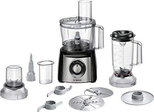 Bosch Lifestyle MCM3501M 800-Watt Food Processor (Black) - KITCHEN MART