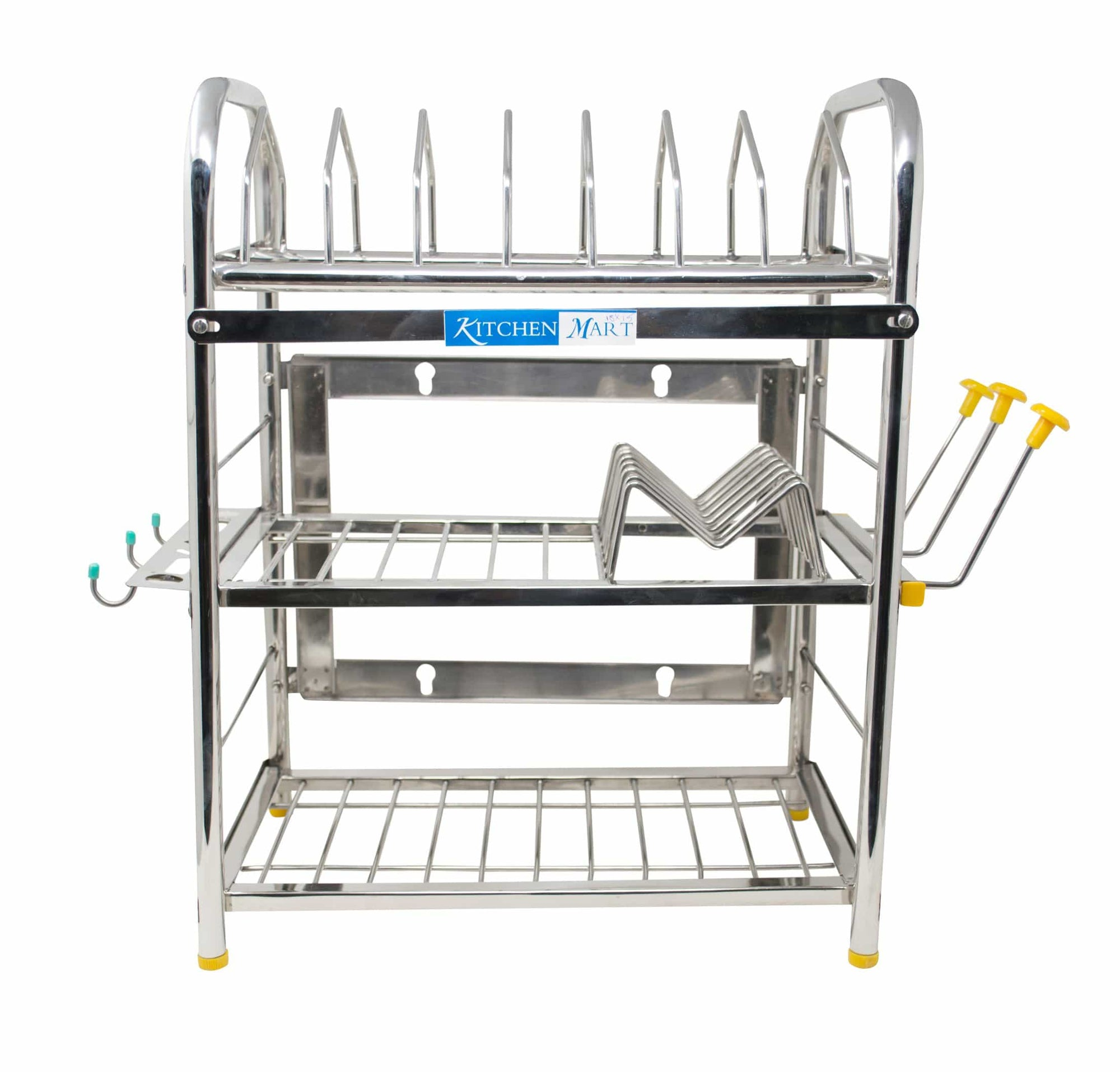 Kitchen Mart Stainless Steel Kitchen Rack (18 x 15 inch) - KITCHEN MART