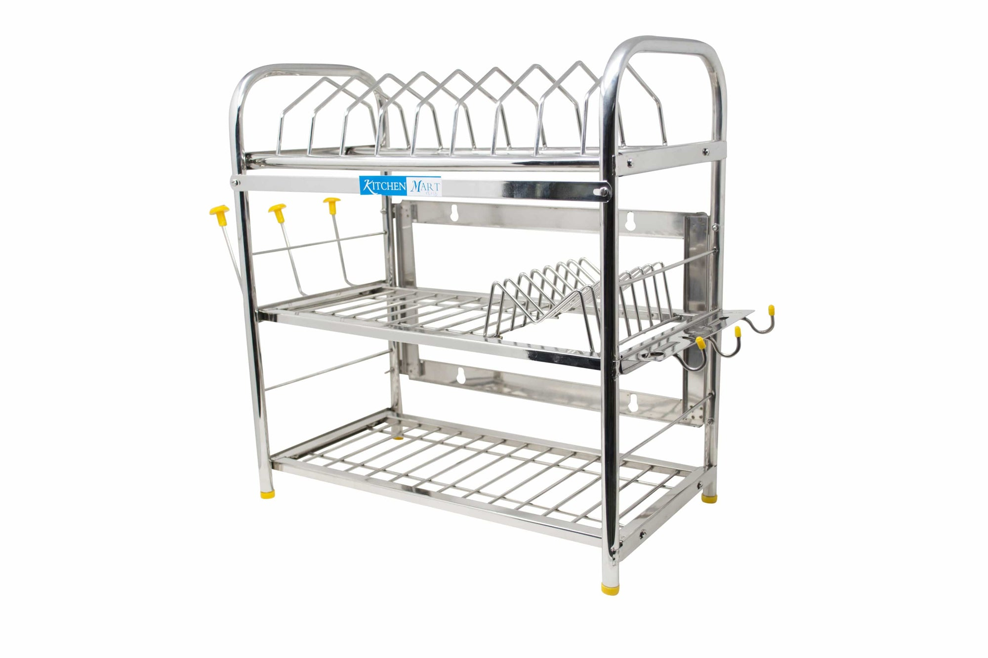 Kitchen Mart Stainless Steel Kitchen Rack (18 x 18 inch) - KITCHEN MART
