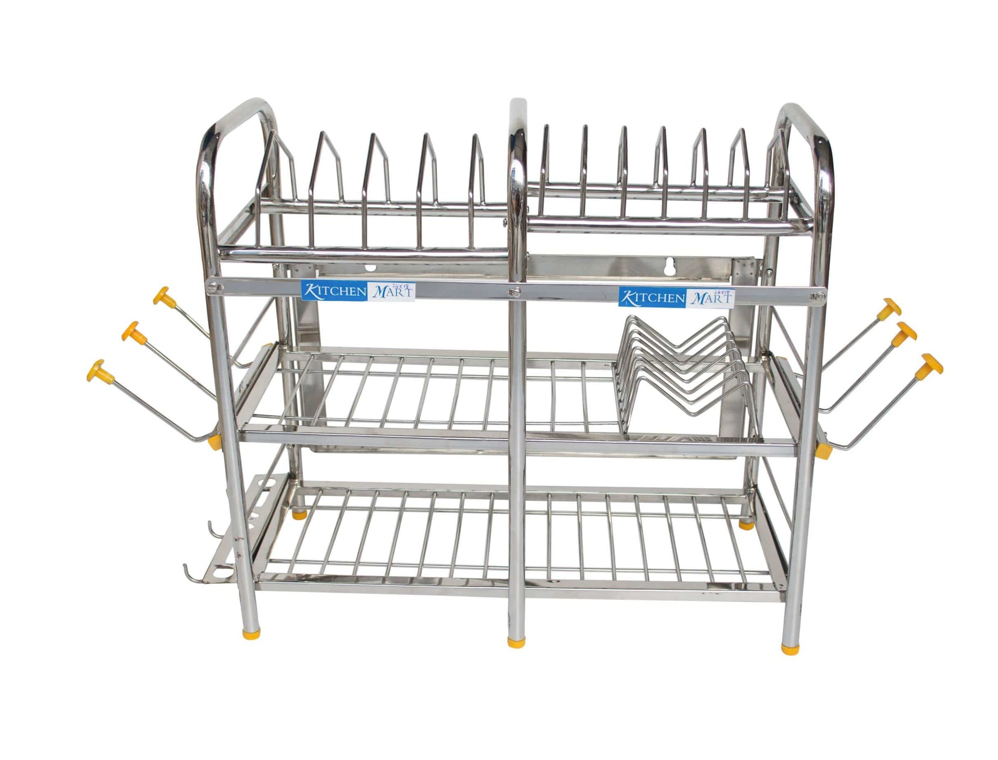 Kitchen Mart Stainless Steel Kitchen Rack (18 x 21 inch) - KITCHEN MART