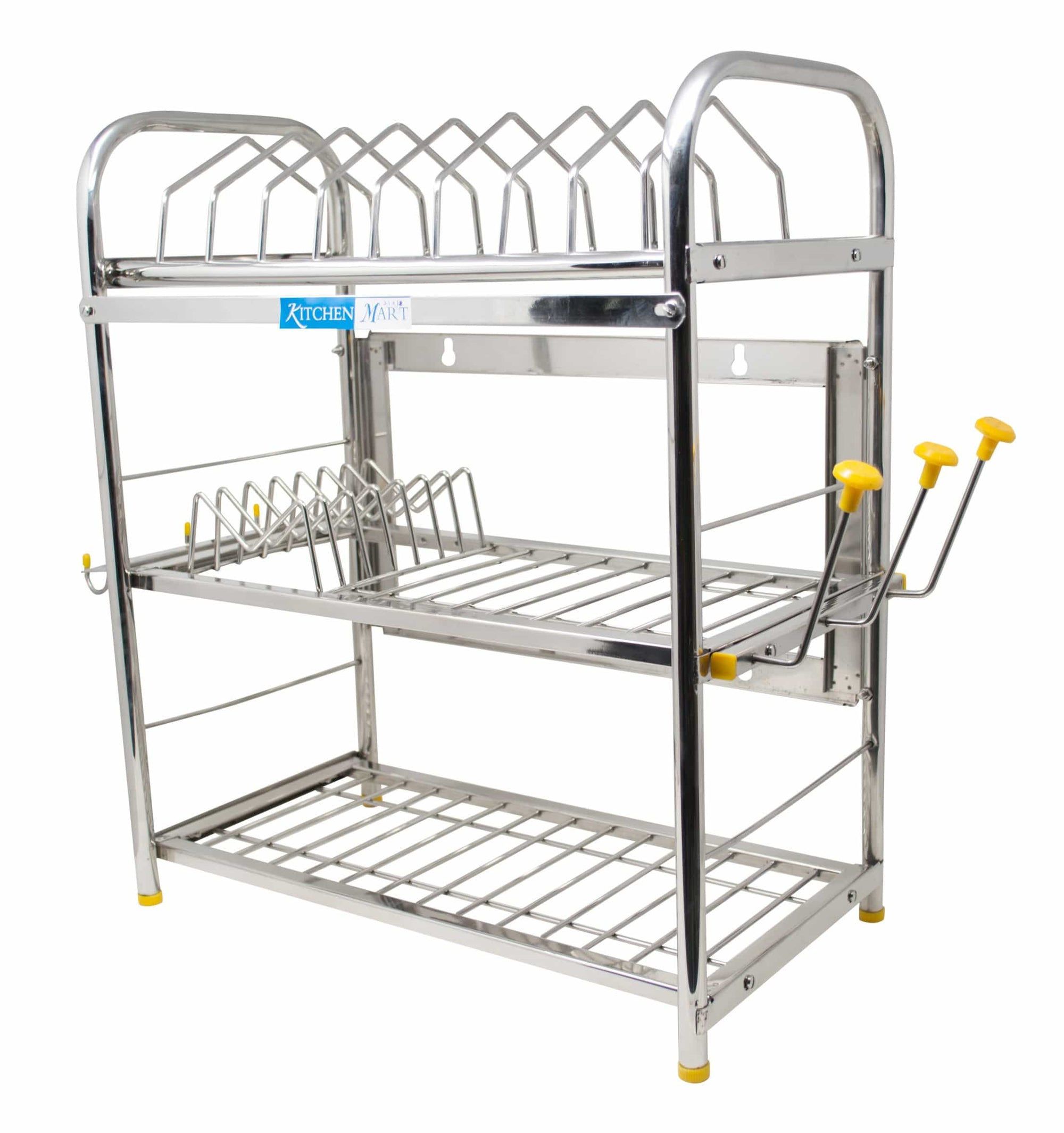 Kitchen Mart Stainless Steel Kitchen Rack (21 x 18 inch) - KITCHEN MART