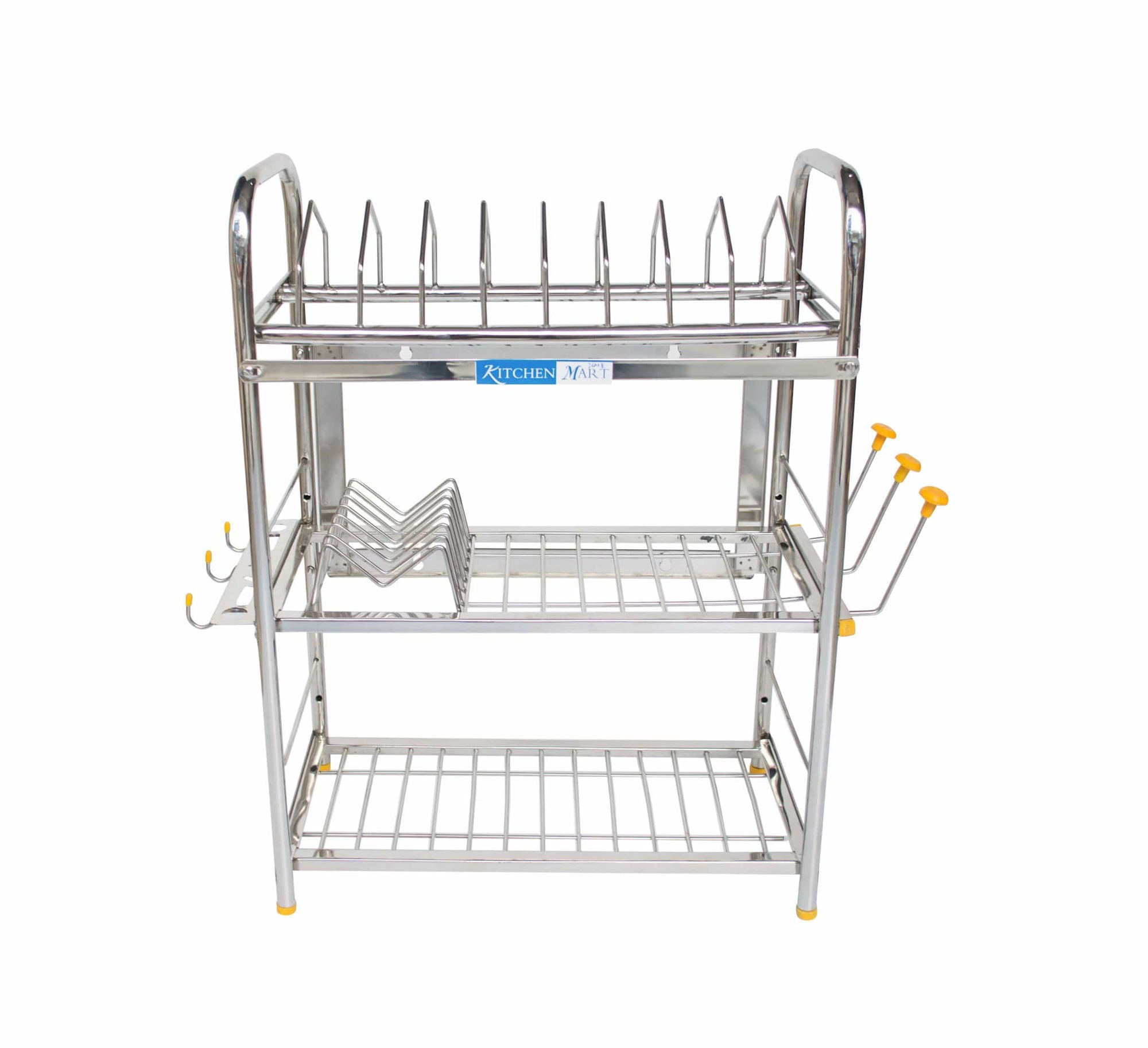 Kitchen Mart Stainless Steel Kitchen Rack (24 x 18 inch) - KITCHEN MART