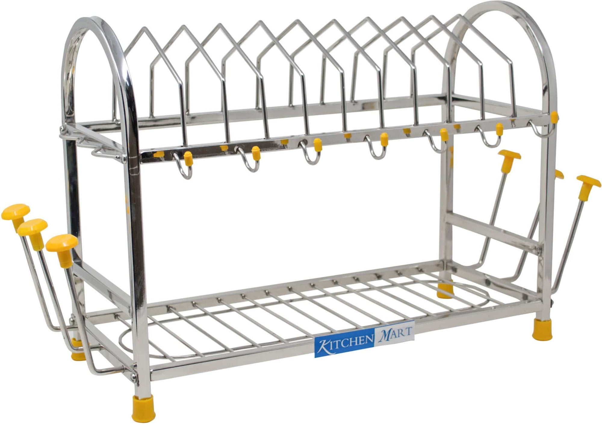 Kitchen Mart Stainless Steel kitchen rack (5 in 1) - KITCHEN MART