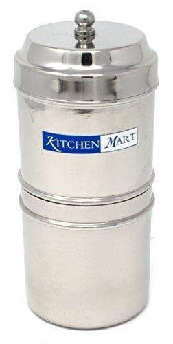 Kitchen Mart Stainless Steel South Indian Filter Coffee Drip Maker (2 Cup) - 20 pieces 708747457674