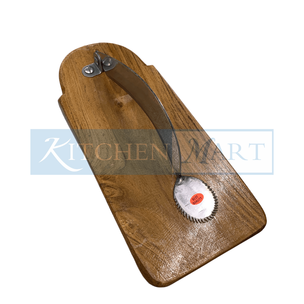 Kitchen Mart Wooden Coconut scrapper