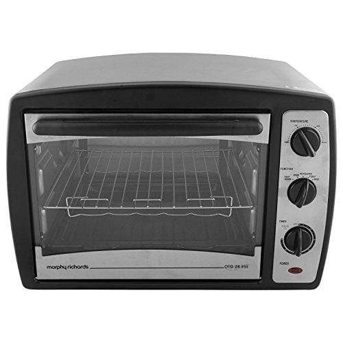 Morphy Richards 28 RSS 28-Litre Stainless Steel Oven Toaster Grill (Black) - KITCHEN MART