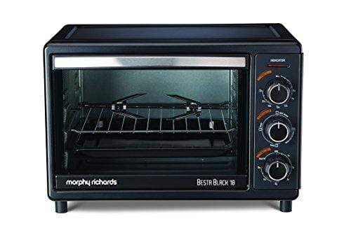 Morphy Richards OTG Besta 18-Litre Oven Toaster Grill (Black) - KITCHEN MART