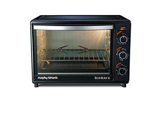 Morphy Richards OTG Besta 40-Litre Oven Toaster Grill (Black) - KITCHEN MART