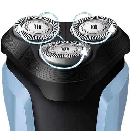 Philips Aquatouch S1070/04 Wet and Dry Electric Shaver - KITCHEN MART