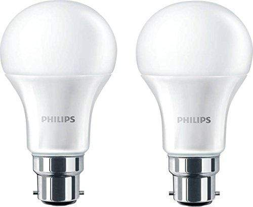 Philips Base B22 14-Watt LED Bulb (Crystal White White,Pack of 2) - KITCHEN MART