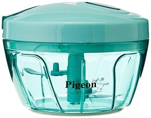 Pigeon Handy Chopper with 3 Blades, Green - KITCHEN MART