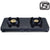Prestige Edge 2 Burner Glass Gas Stove PEBS 02, Black (ISI Approved) - KITCHEN MART