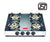 Prestige Marvel Plus Stainless Steel 4 Burner Gas Stove (GTM 04 SS) (ISI Certified) - KITCHEN MART