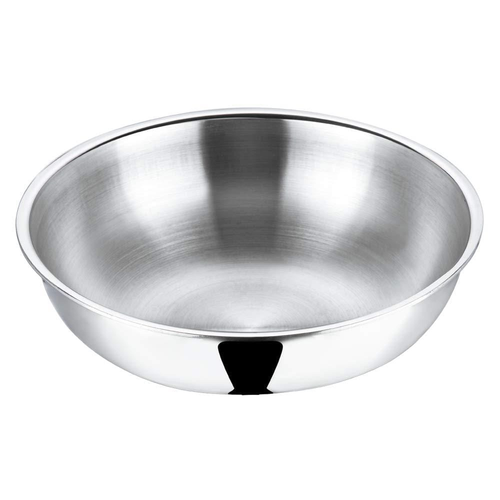 Vinod Platinum Triply Stainless Steel Tasla - KITCHEN MART
