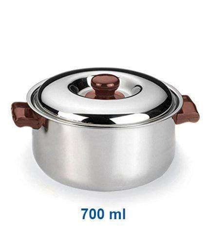 Vinod Steel Hot Casserole (salem 304 grade Steel) - KITCHEN MART