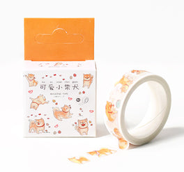 Shiba Inu Washi Tapes Dog Deco Tapes