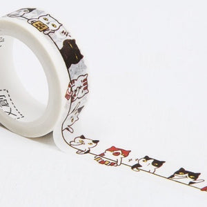 Cat Washi Tapes Deco Tapes