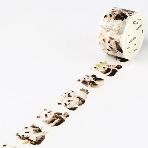 Panda Washi Tape Animal Washi Tape Deco Tapes