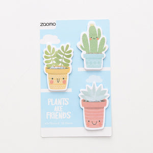 Cactus Sticky Notes Plants Sticky Memo