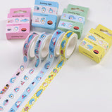 Whale Washi Tape Animal Washi Tape Deco Tapes