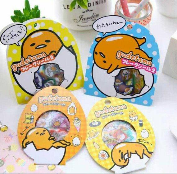 Gudetama Sticker Pack Lazy Egg Deco Stickers