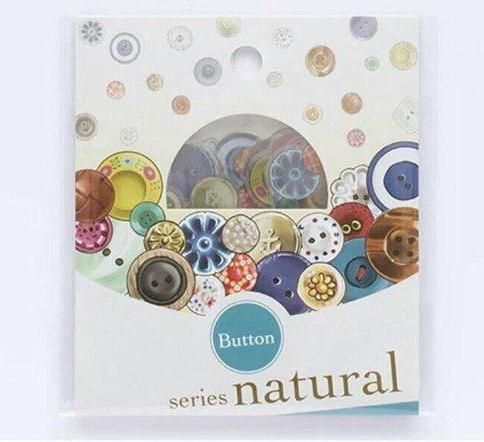 30pcs Button Stickers Deco Stickers