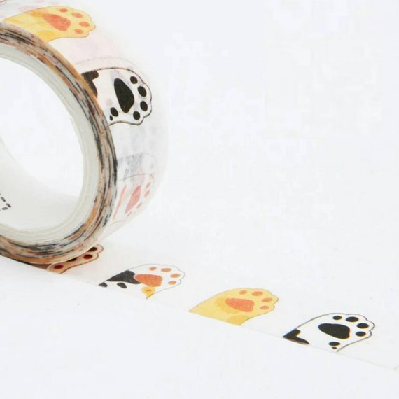 Cat Paw Washi Tapes Cat Deco Tapes