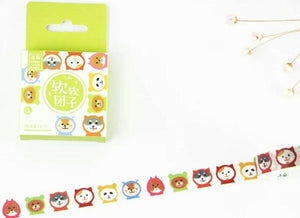 Animal Washi Tapes Deco Tapes