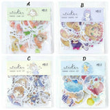 40pcs Girl Stickers Washi Stickers Deco Stickers