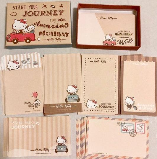 64 sheets Hello Kitty Memo Set Memo Cards