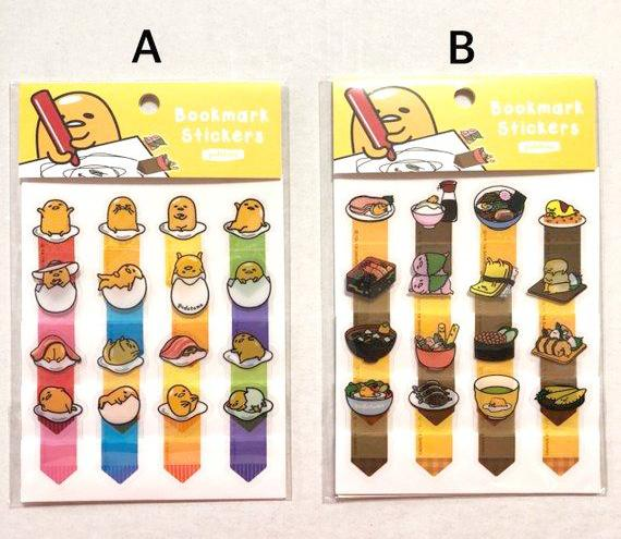Gudetama Index Stickers Page Marker Lazy Egg Planner Stickers Deco Stickers