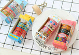 4 rolls of Snoopy Washi Tape Set Deco Tapes