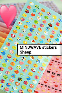 Mind Wave Sheep Stickers Deco Stickers