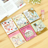 64pcs Shinzi Katoh Story Sticker Set Bear Stickers