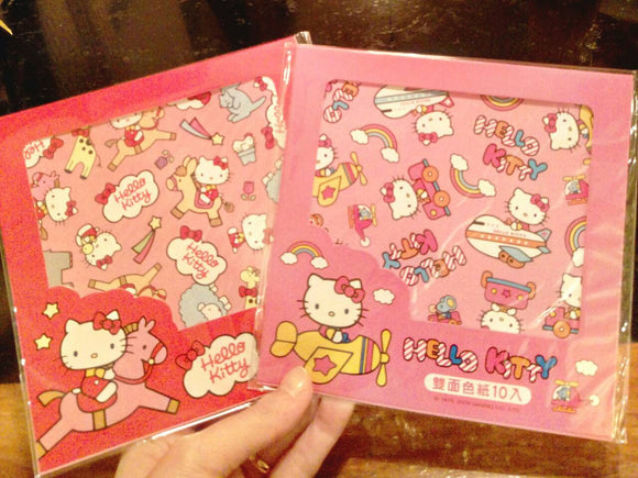 Hello Kitty Origami Paper Double-sided Color Paper Hello Kitty Color Paper