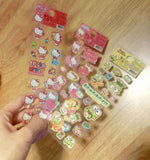 Hello Kitty Stickers Keroppi Stickers Shiny Stickers l