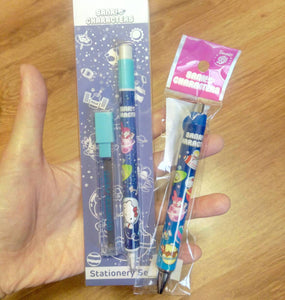 Sanrio Characters Mechanical Pencil + Lead Keroppi Hello Kitty Automatic Pencil My Melody Pompompurin