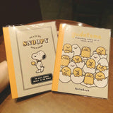 Snoopy Notebook Gudetama Notebook Lazy Egg Lined Notebook